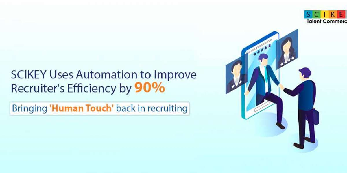 SCIKEY Uses Automation to Improve Recruiter's Efficiency by 90%