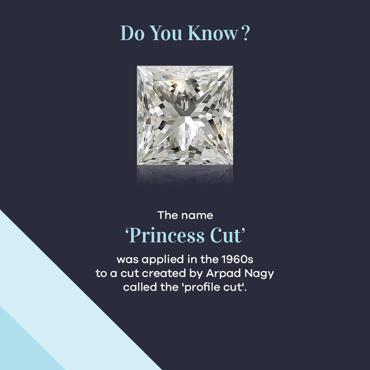 Shree Ramkrishna Exports Pvt. Ltd. on LinkedIn: #PrincessCutDiamond #DoYouKnow #NaturalDiamonds