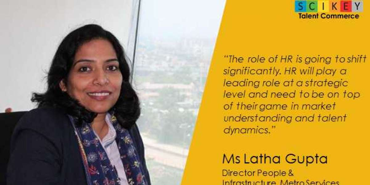 Ms Latha Gupta-Director People & Infrastructure Metro Services