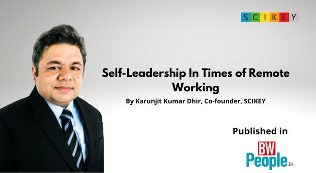 SCIKEY on LinkedIn: Self-Leadership In Times of Remote Working