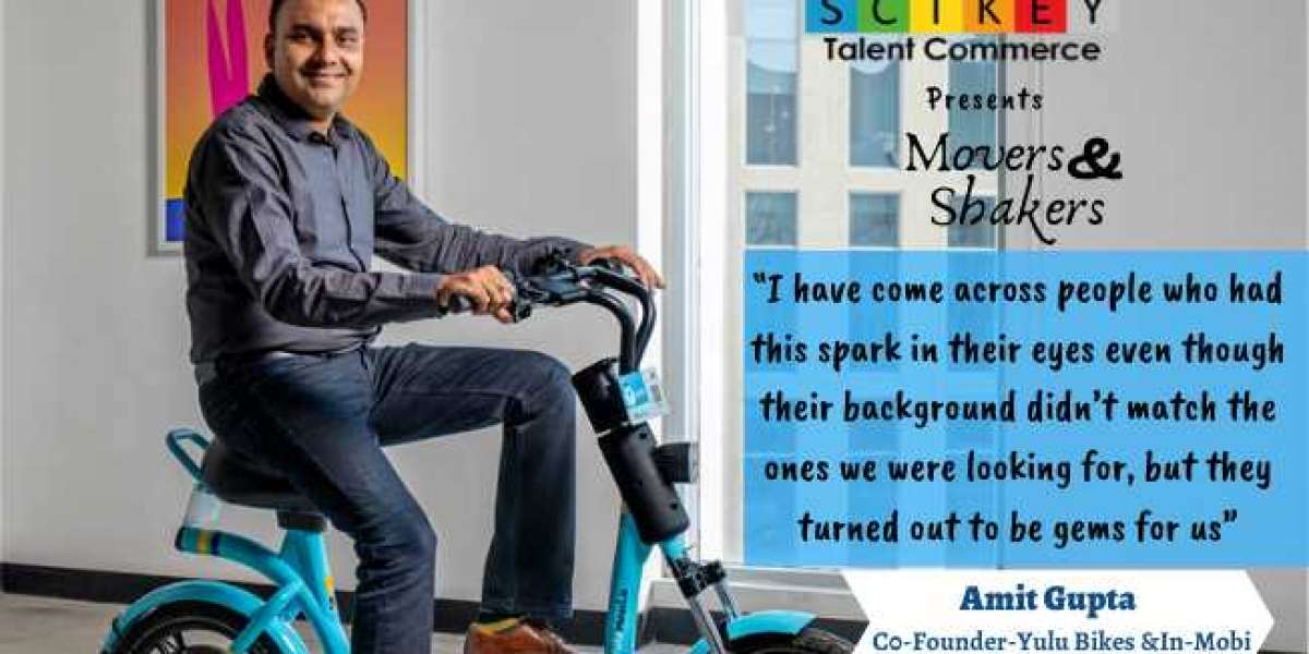 Amit Gupta Co-Founder at Yulu Bikes and In-Mobi
