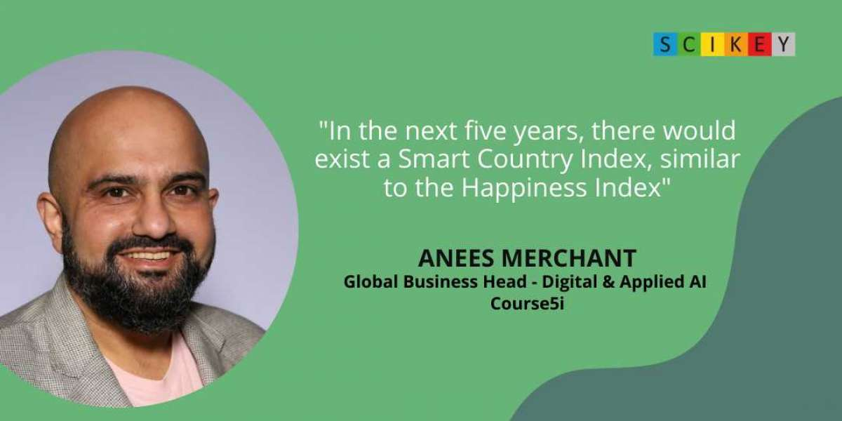Anees Merchant, Global Business Head – Digital and Applied AI at Course5i