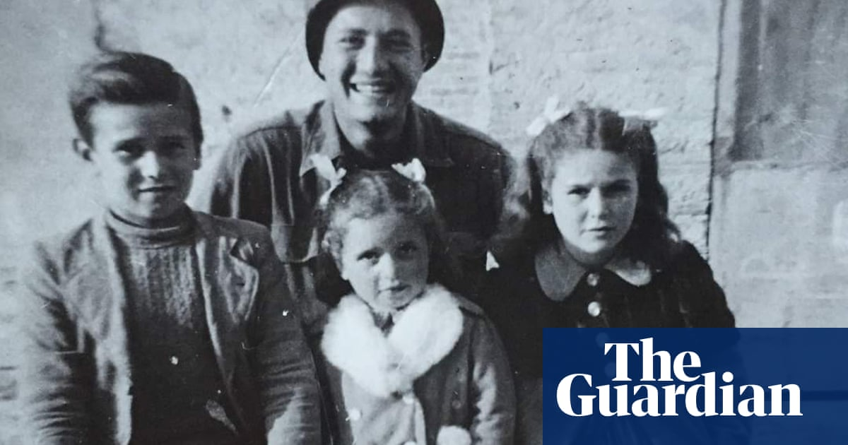 US soldier reunites with Italian children he almost shot during second world war | Second world war | The Guardian