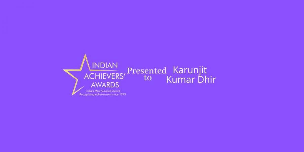 Karunjit Kumar Dhir - Indian Achiever's Award 2020