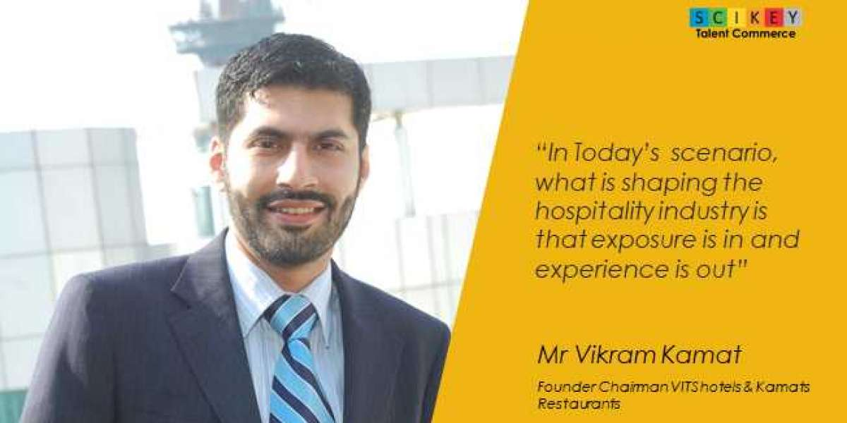 Mr Vikram Kamat, Founder Chairman VITS hotels and Kamats Restaurants